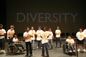 """The emotional closing of the show featured the campers singing """"God Made Me Who I Am."""""""
