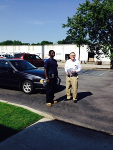 Javonte Love was given a car to use as reliable transportation by the Huntsville-Madison County Transporation Coalition in May