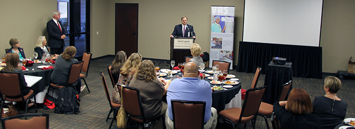 The Alabama Department of Rehabilitation Services and the Alabama Department of Mental Health recognized the contributions of seven Project SEARCH employer sites at a luncheon held Tuesday, Dec. 2, at the Montgomery Marriott Prattville Hotel and Conference Center.