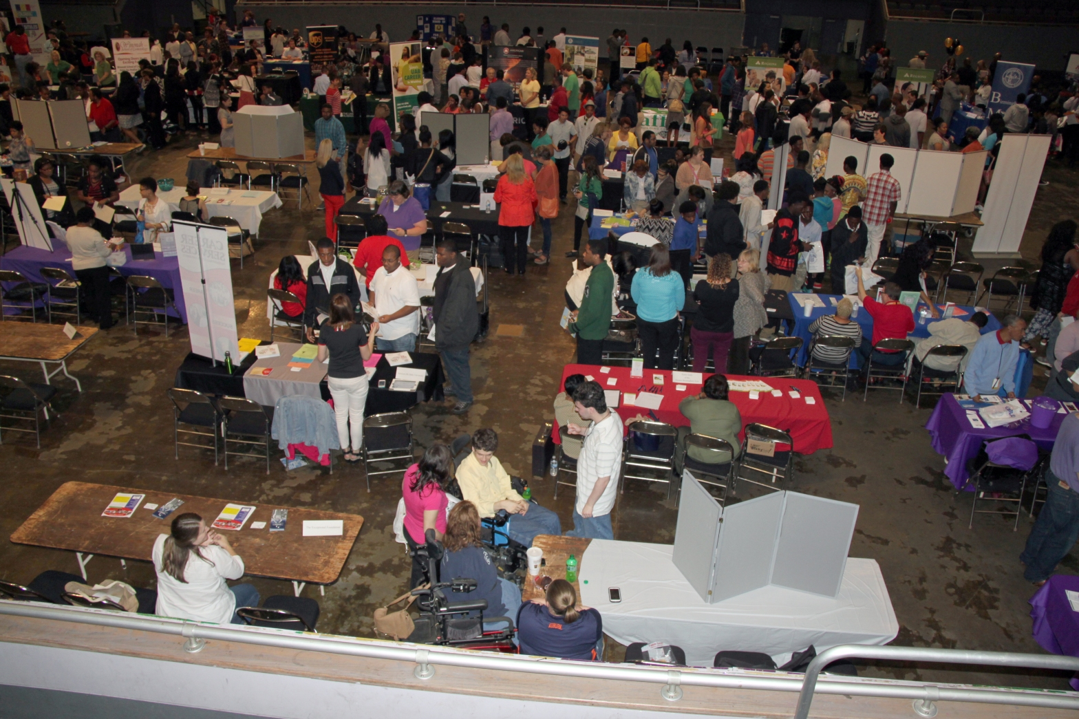 More than 300 students, parents, and educators attended the fair