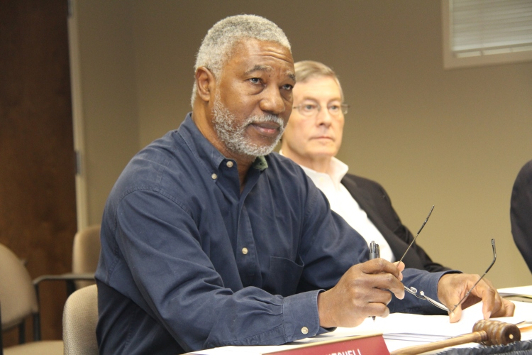 Mr. Jimmie Varnado of district 2 leads the first board meeting since being named chair