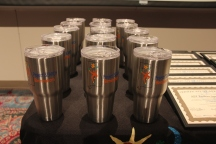 Graduates of Project Search Birmingham received metal tumblers at the commencement