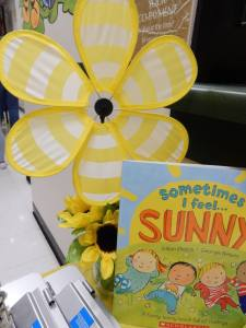"""Sometimes I Feel Sunny"" by Gillian Shields is the book being prescribed by pediatricians throughout the summer"