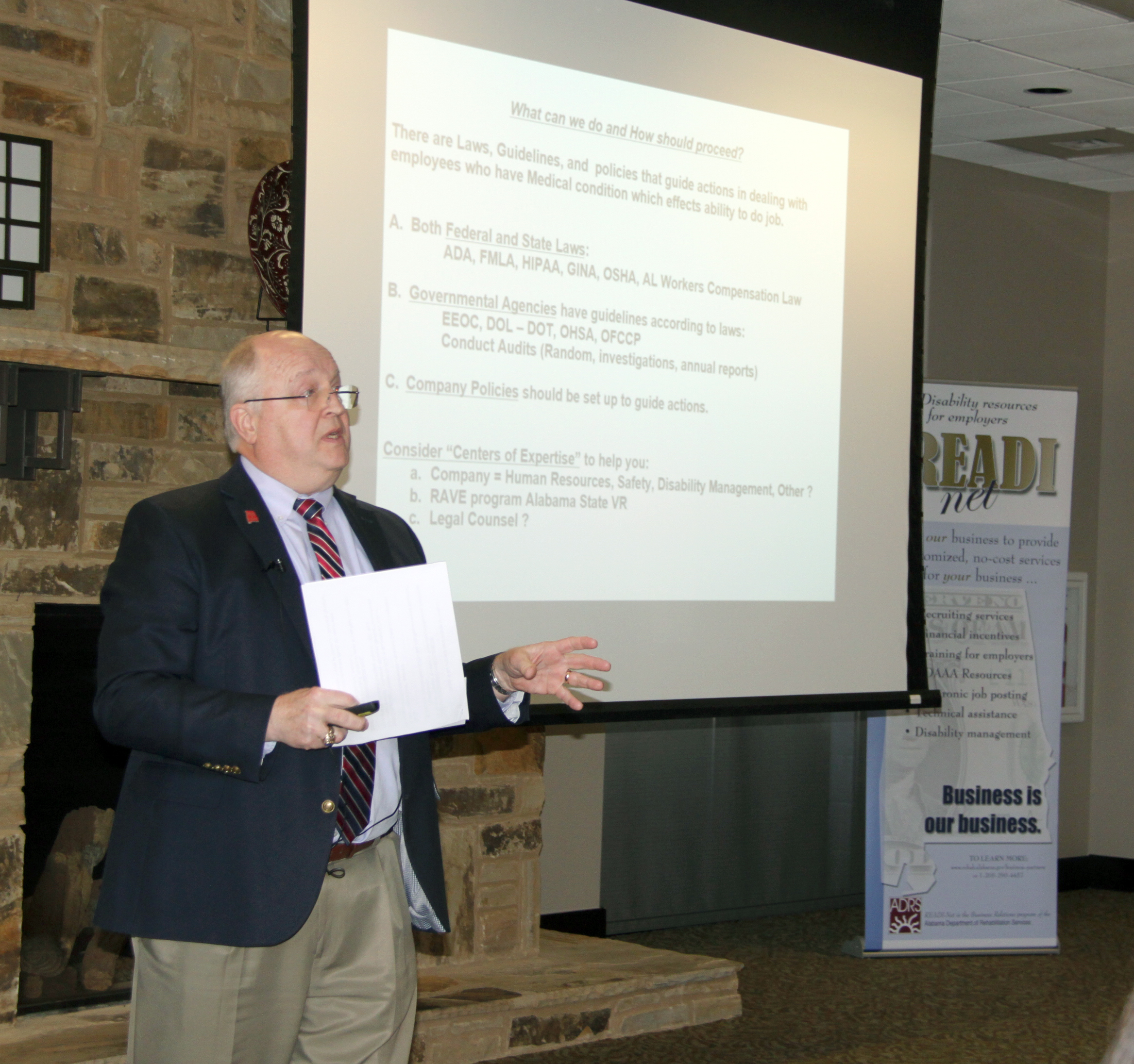 Jeff Cofield, Who Works With Alabama Power, Offers The Employer Perspective  During The Employer