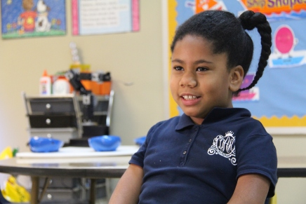 Diyari Askew is a second grader at W.O. Lance Elementary in Lanett