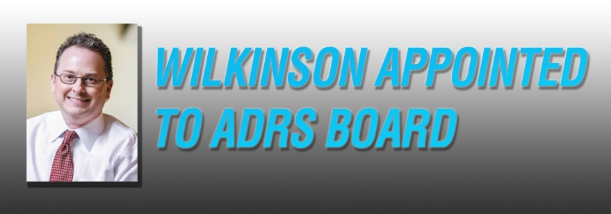 Charles Wilkinson is the newest ADRS board member, representing the 6th congressional district